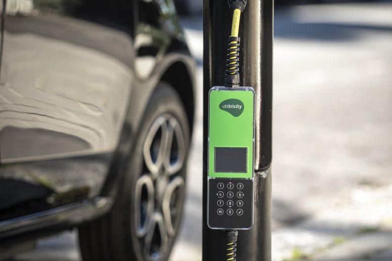 ubitricity charging lamppost