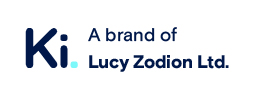Ki. logo - A brand of Lucy Zodion