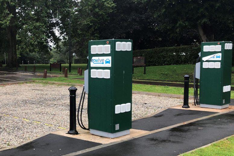 Eastville Park EV Supply Pillar - Car Park